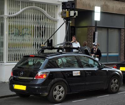 Google Street View Car Cam